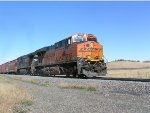 BNSF 7848 on South bound mechandise train