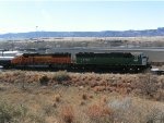 BNSF 8167 and 8106 on Pikes Peak Local