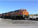 BNSF 7082 on lead of South bound mixed frieght