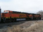 BNSF 7361 and BNSF 7634 on Main 2 of Joint Line