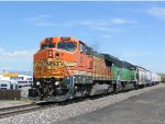 BNSF 551 Leads South bound Pikes Peak local