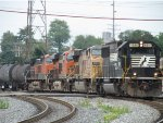 NS 6691 and company heading for Toledo