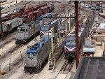Amtrak's Race St Engine Facility