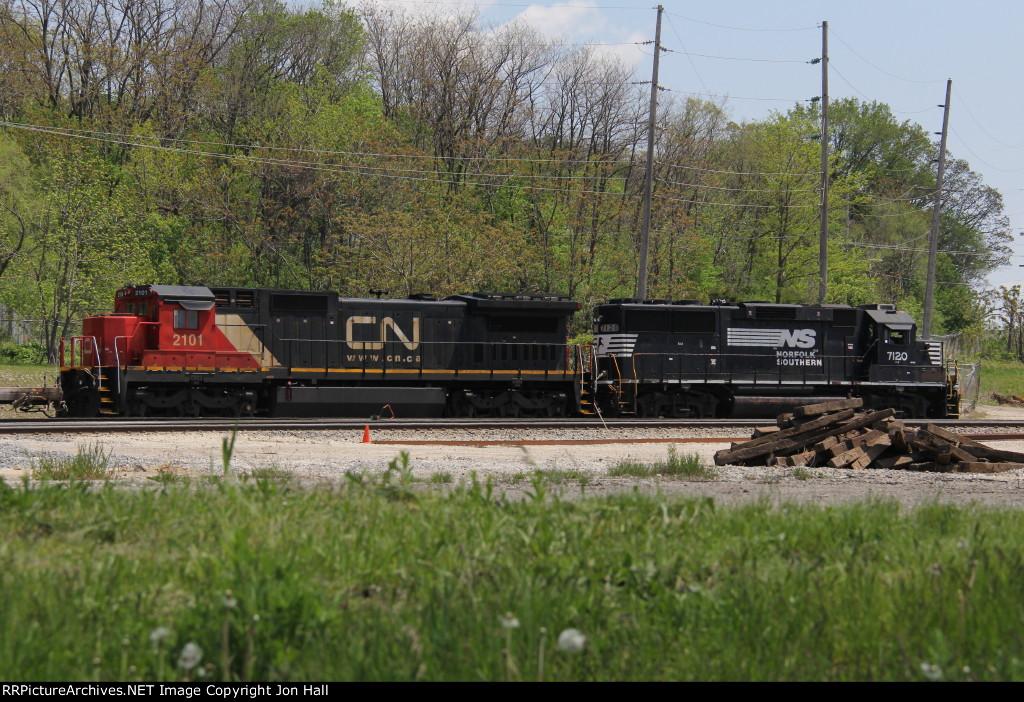 CN 2101 & NS 7120