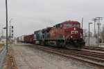 CP 9670 & CEFX 1020 start 493 east toward A-5 where they will turn north