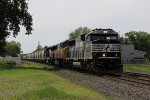 NS 6957 leads a UP unit and a GP as 36J heads for Elkhart