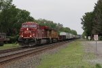Bound for Bensenville Yard, CP 8726 & UP 5543 lead 243 west