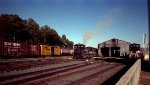 NS 2351 switches some locos at the fuel racks