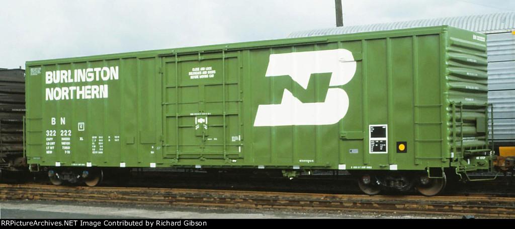 BN 322222 Box Car