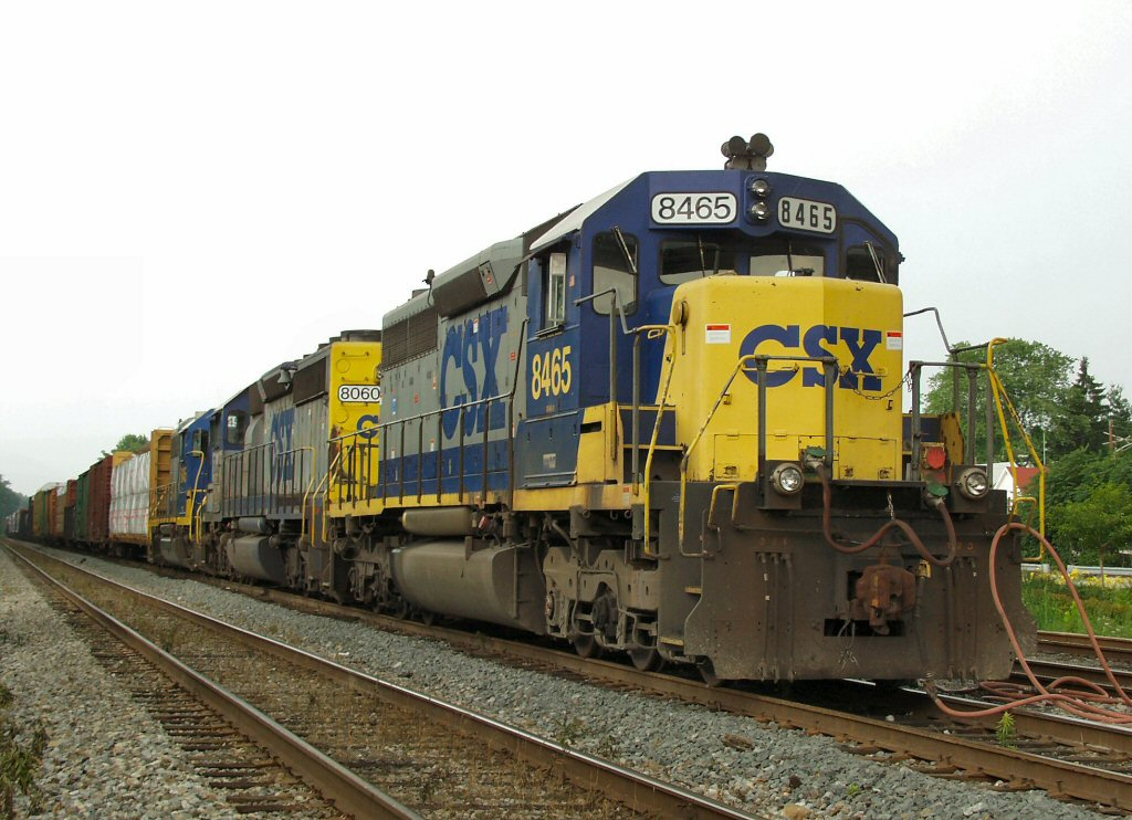 Eastbound Mixed Freight Lays Over