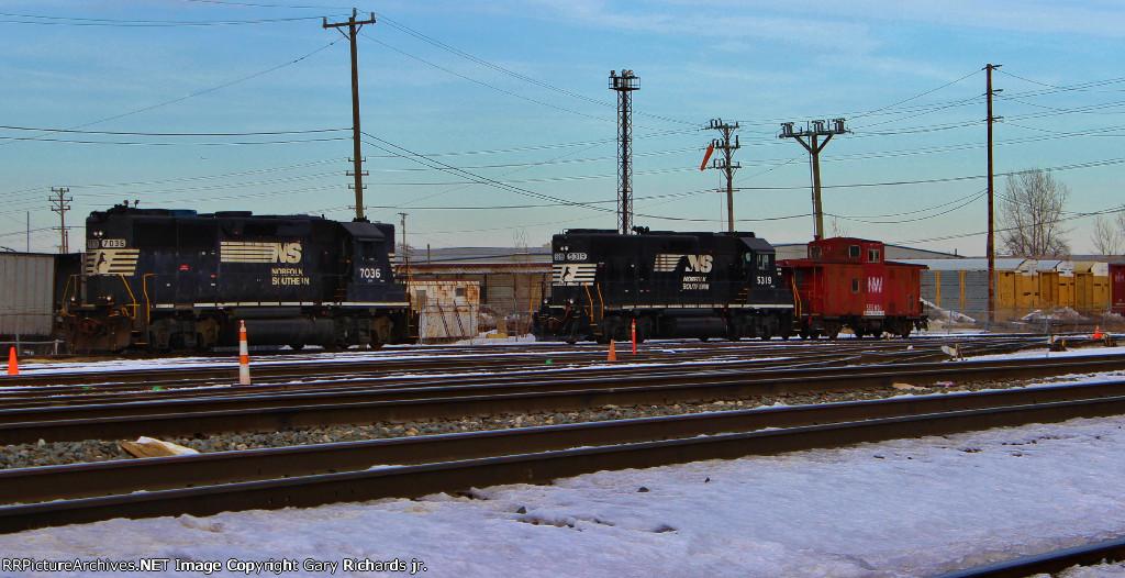 NS 7036, 5319, & NW 555001