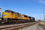 UP 8706 & NS 9226