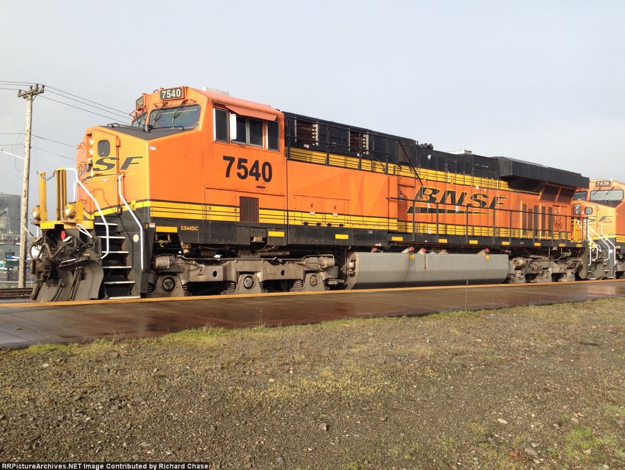 BNSF 7540