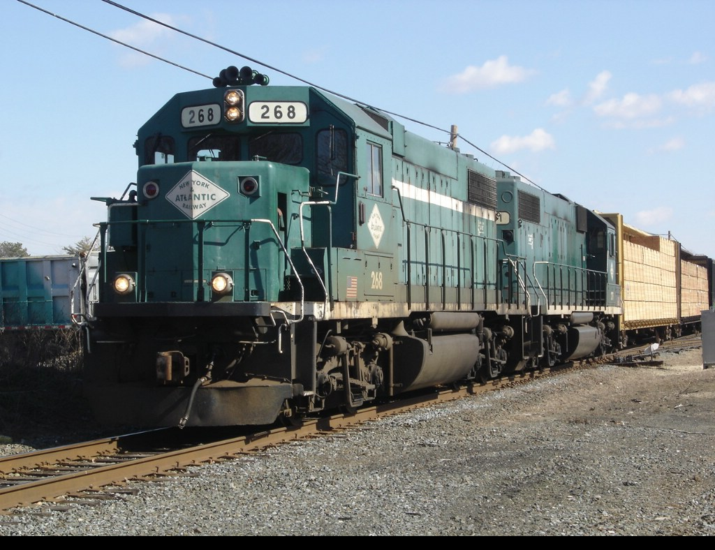Switching Freight at Holtsville NY