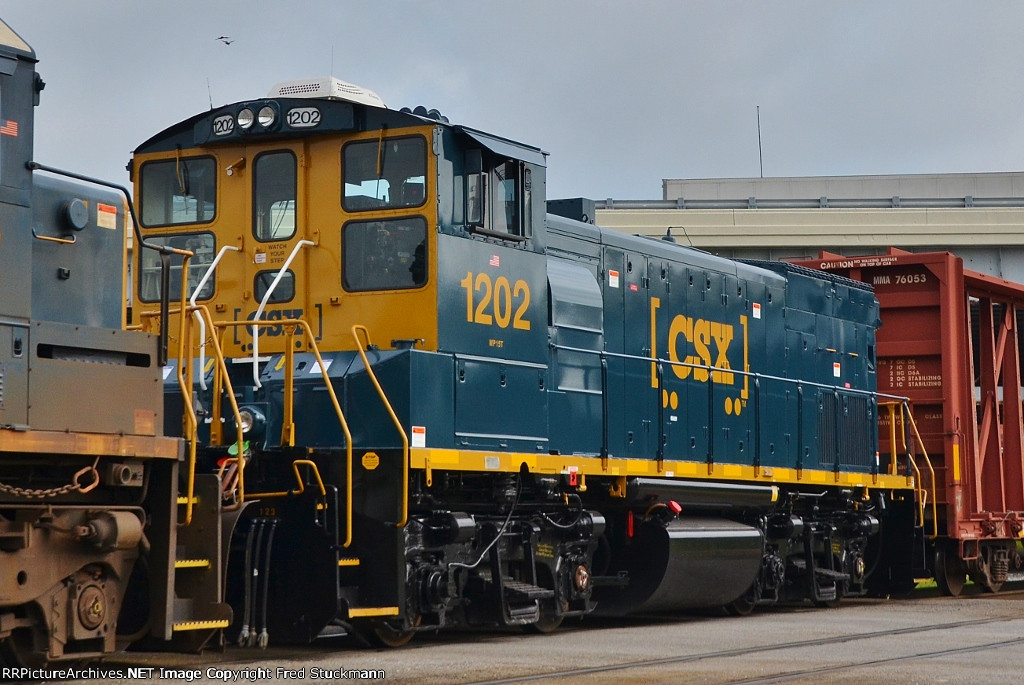 CSX 1202 is as good as new.