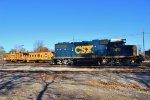 CSX 2613, C&O 904143, & C&O 3261