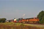 BNSF 7341 On CSX Q 133 Southbound