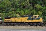 CNW 8701 On NS 216 Northbound