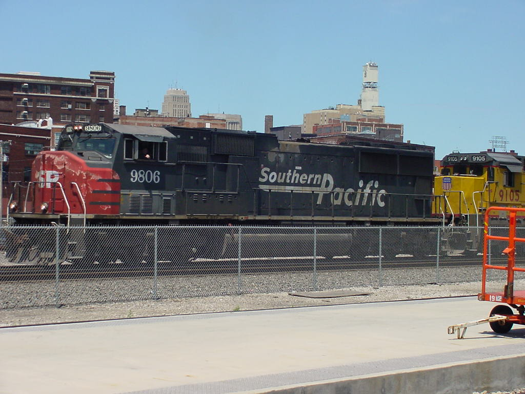 Roster Shot of the Extremely Rare SP SD70M 9806