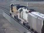 UP Dash-8 9106 and SOO GP40 4601 Back Side