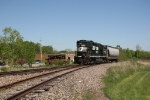 NS BV19 westbound at Bedford Heights