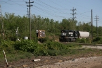 NS BV19 approaching the Aetna Road crossing