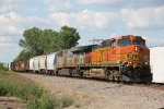 BNSF 4998 Heads SB witha CREX 2nd out.
