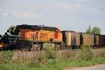 BNSF 5932 Dpu on a SB coal load.