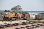 UP 5417 leads a Up freight into Grantie city IL.