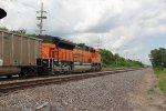 BNSF 9042 Dpu on a SB coal load.