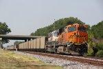 BNSF 6310 Leads NS 70E up main 2.