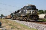 NS 8065 Heads a empty coal drag toward Lenox tower.