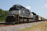 NS 1017 Dpu on a empty coal train.