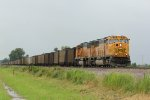 BNSF 8810 Leads a loaded coal drag down the K Line.