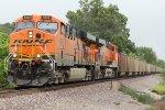 BNSF 5992 Screams Sb with a coal load.