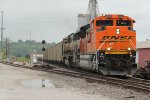 BNSF 8539 Leads a loaded coal drag out of Old Monroe Mo.