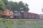 BNSF 4055 Leads the GALMEM.