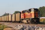 BNSF 9196 Dpu on a SB coal load.