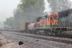 BNSF 588 Trails 2nd out on a TULGAL.