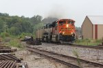BNSF 8770 Leads a loaded coal train into Old Monroe Mo.