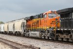 BNSF 8113 Brand new C4 trails 2nd out..