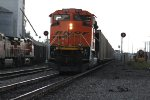 BNSF 8539 Newer Ace trails as Dpu on a SB coal load.