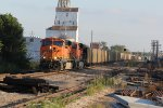 BNSF 5917 Leads a empty coal through town on a tuesday evening.