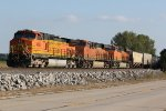 BNSF 4066 Waits on the main for a train meet..
