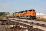 BNSF 9039 Heads up a SB loaded coal train..