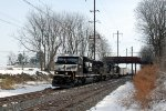 SD60E NS 6921 leads a detoured 21E over Amtrak's Keystone Corridor.