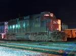 SSW 9684 GP60 in the Cotton Belt Yard