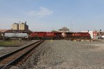 A pair of CP GE's roll east over the Toledo Sub diamond with Q386
