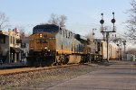 CSX 781 leads Q231 south past the Glendale CPL's that were doomed to fall the next day
