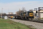 Pulling south through KC Junction, J767 is just into its trip toward Worthville on the LCL Sub